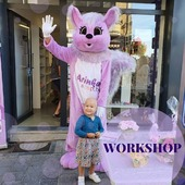💥And workshop can be even more fun !!!  🧚♀️Our master Yana has a wonderful assistant Belka, who is happy to help lead our workshops together with Yana.  💥Well, she likes nuts and choco (= 25€)  #ArinKaSoap