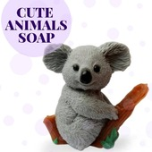 🐇Soap in the form of cute animals, bunnies, dogs, teddy bears, you can easily find all this on our website.   🐻This soap is sure to please both children and adults!   💓Give your loved ones emotions.  #ArinKaSoap