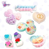 """💥On our Web site  arinkasoap. com in the section """"Thank you gifts"""" we offer a specially crafted soaps for different events: 📌birthday, 📌wedding, 📌birth, 📌Christmas,  📌New Year, 📌Valentine's Day, 📌International Women's Day, 📌Mother's Day, 📌Easter, 📌Halloween.  💥If neither subsection does not meet your event, contact us and we will create a special soap for your occasion  #arinkasoap"""