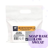 "👩‍🔬We have already mentioned that handmade soap can ""sweat"" due to temperature and humidity changes.   💥The novelty is already on the site!   💧Low Sweat Transparent soap base is sweat-free while retaining excellent foaming properties  💣For every soap maker who had to wait so long!   🏷1 kg - 7.80 Euro From 10 kg discount! #arinkasoap"