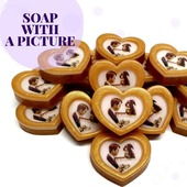 🎊There is a celebration ahead ,what to give to your guests?  💡A handmade soap with a picture  or date is what you need. It is useful and beautiful!   🙌And we are always ready , absolutely free to help with your design development  You can see more on our website Arinkasoap.com  #arinkasoap