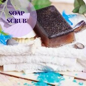 ☘️The modeling soap-scrub with seaweed and clay  ☘️This natural aromatic soap consists of harmoniously matched ingredients: macadamia oil, coconut oil, seaweed Ascophyllum, white clay & essential mandarin oils.  ☘️All these natural products for women help in the fight against obesity and cellulite. The seaweed and clay effectively cleanse the skin, tighten pores, stimulate metabolic processes and tenderly cleanse the skin.  ☘️Seaweeds are used as a peeling tool, improving metabolism and additionally cleansing the skin. White clay removes inflammation, tightens pores & cleanses the skin.  ☘️Essential mandarin oil has a relaxing effect. It helps to cope with troubles, sadness and bad moods, it warms and enhances sensitivity. The mandarin oil is a disinfectant, an anti-inflammatory and regenerative medication.  €4.00  #arinkasoap