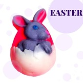 🐇Easter is coming soon!  🐇Get ready on time!  🐇On our site you will find rabbits, eggs and spring flowers from soap!  🐇Go over and choose! Arinkasoap.com  #arinkasoap