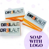 """🧼Personalized soap """"Logo (little rectangle)"""" is presented to give you an example.  ✅This article is designed to each of your order. It is an exclusive and vibrant present.  ✅It can accommodate any picture, business card, greetings, personal comments and even photos.   ✅You can upload your layout to the special field under the description, send your layout by mailinfo@arinkasoap.beor to entrust our expert of graphic design to create the layout.  #ArinKaSoap"""