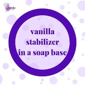 ❓Why a vanilla stabilizer added in a soap base?  👩🔬This ingredient is essential when you add fragrances and other ingredients that contain vanillin, your soap does not change color or darken.  👌An interesting knowledge 😉  #ArinKaSoap