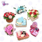 🧚♀️In our Handmade Soap Sets category you will find a selection of unique soap gift baskets and gift boxes that would make a perfect present for any occasion.  🧚♀️ Every bar of our vegetable based soap is carefully handcrafted in our shop in Belgium by hand with a special attention to details.  🧚♀️Feel free to browse our quality, natural products gentle for everyone to enjoy.  #ArinKaSoap