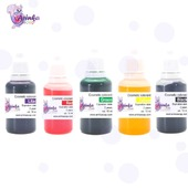 ✔️On our website Arinkasoap. com you can find quality Liquid concentrated cosmetic pigment colorant.  🌈Provides a bright saturated color in a transparent soap base, and a delicate pastel color in a white base.  10ml €2.50 30ml €6.00