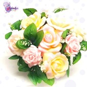 👌The flower arrangement made of soap is a perfect gift for any occasion.   👨💻On our site you can find both ready-made solutions or make a composition of the individual flowers you like from our site.   👌And we'll help you with pleasure.  #ArinKaSoap